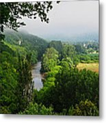 Vezere River Valley Metal Print