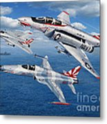 Vf-111 Sundowners Heritage Metal Print by Stu Shepherd