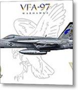Vfa-97 2014 Metal Print