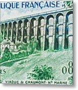 Viaduct Chaumont Haute-marne Metal Print