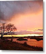 Storm At Dusk 2am-108350 Metal Print