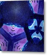Vibrant Shades Of Blue 4 Metal Print