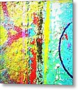 Vibrant Thoughts Metal Print
