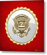 Vice Presidential Service Badge Metal Print