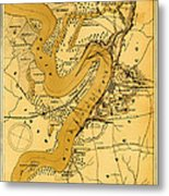 Vicksburg And Its Defenses Metal Print