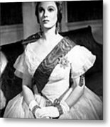 Victoria The Great, Anna Neagle, 1937 Metal Print