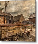 Victorian Colliery Metal Print by Adrian Evans