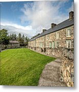 Victorian Cottages Metal Print