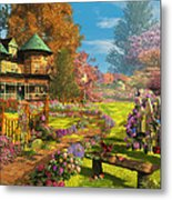 Victorian Dream Metal Print
