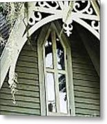 Victorian Gable St Francisville Louisiana Metal Print