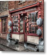 Victorian Hardware Store Metal Print by Adrian Evans