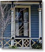 Victorian Home In Napa Valley Metal Print