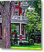 Victorian Home Metal Print
