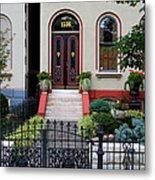 Victorian House Lafayette Sq St Louis Metal Print