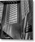 Victorian Jail Staircase V2 Metal Print