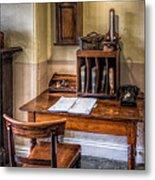 Victorian Medical Office Metal Print