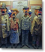 Victorian Musee Mecanique Automated Puppets - San Francisco Metal Print by Daniel Hagerman
