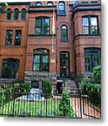 Victorian Row Home  Metal Print