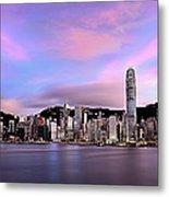 Victoric Harbour, Hong Kong, 2013 Metal Print