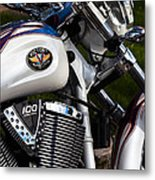 Victory 100 Cubic Inches Metal Print