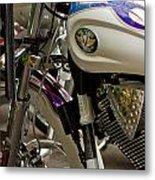 Victory Motorcycle Engine Metal Print