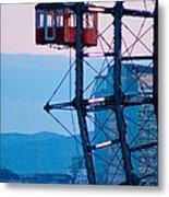 Vienna Ferris Wheel Metal Print by Viacheslav Savitskiy