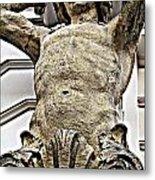 Vienna Pillar Metal Print