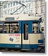 Vienna Tram Metal Print