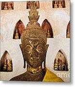 Vientiane Buddha 2 Metal Print