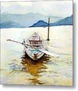 Vietnam Boat Metal Print