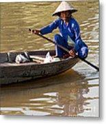 Vietnamese Boatwoman 01 Metal Print