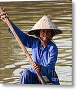 Vietnamese Boatwoman 02 Metal Print