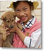 Vietnamese Girl 02 Metal Print