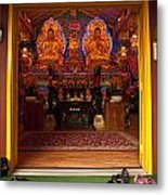 Vietnamese Temple Shrine Metal Print