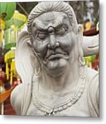 Vietnamese Temple Statue Metal Print