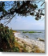View At East Point  Metal Print