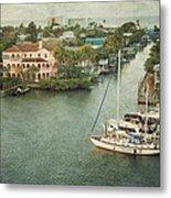 View At Fort Myers Beach - Florida Metal Print