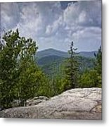 View From A Mountain In A Vermont Metal Print