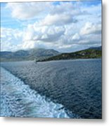 View From A Scottish Ferry Metal Print