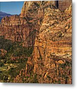 View From Angel's Landing 2 Metal Print