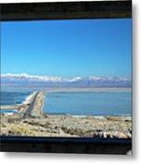 View From Antelope Island Metal Print