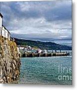 View From Back Beach - Lyme Regis Metal Print