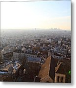 View From Basilica Of The Sacred Heart Of Paris - Sacre Coeur - Paris France - 011316 Metal Print