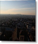 View From Basilica Of The Sacred Heart Of Paris - Sacre Coeur - Paris France - 011317 Metal Print