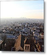 View From Basilica Of The Sacred Heart Of Paris - Sacre Coeur - Paris France - 011318 Metal Print