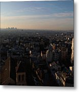 View From Basilica Of The Sacred Heart Of Paris - Sacre Coeur - Paris France - 011319 Metal Print