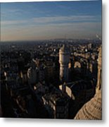 View From Basilica Of The Sacred Heart Of Paris - Sacre Coeur - Paris France - 011321 Metal Print