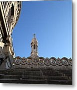 View From Basilica Of The Sacred Heart Of Paris - Sacre Coeur - Paris France - 01134 Metal Print