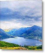 View From Bealach Ratagan To The Five Sisters Of Kintail Metal Print