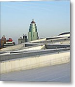 View From Birds Nest Of Beijing China Metal Print